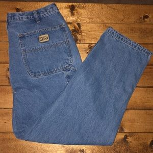 Gravel Gear Medium Wash Relaxed Fit 36 x 30